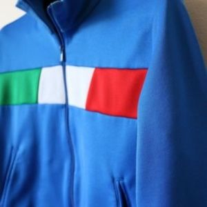 d0587028fbec adidas Shirts   Tops - Adidas Italy World Cup Zip Up Track Jacket